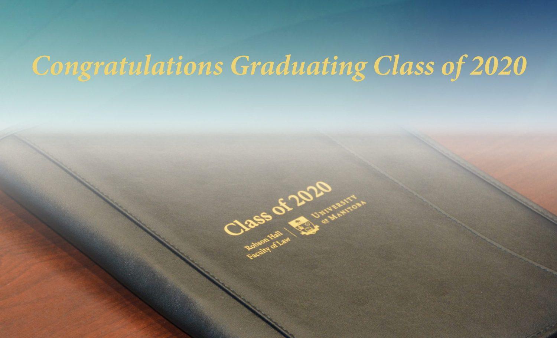 Congratulations Graduating Class of 2020