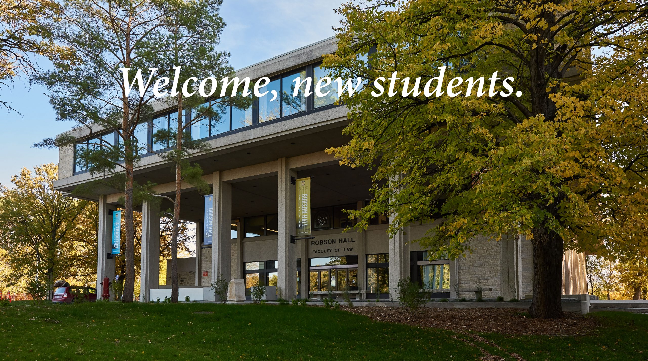 Welcome to Robson Hall