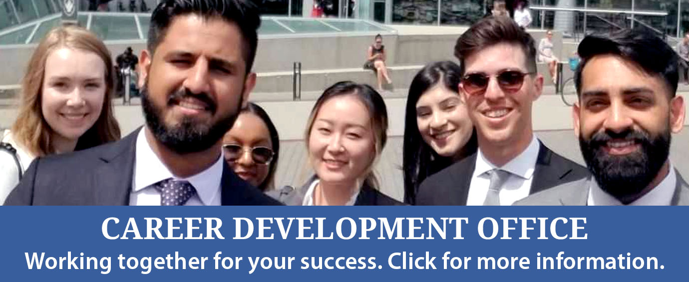 Learn more about the Career Development Office.