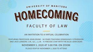 UM Law Alumni Virtual Homecoming 2020 @ Zoom