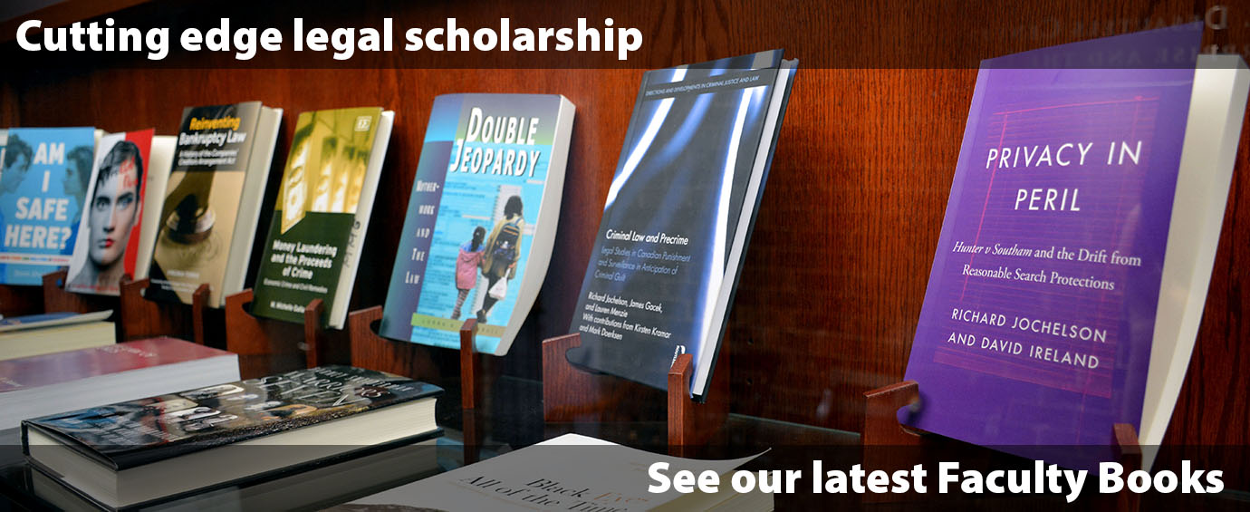 Banner Image for Faculty Books page