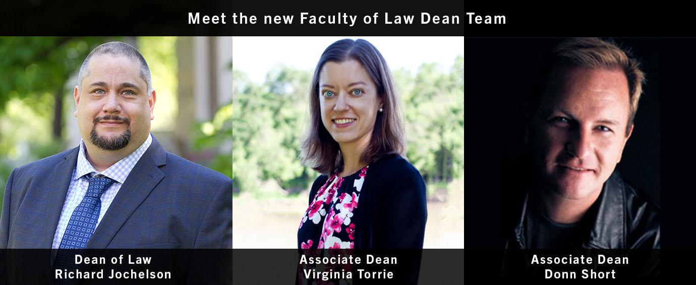 Meet the New Dean Team, story on UM Today